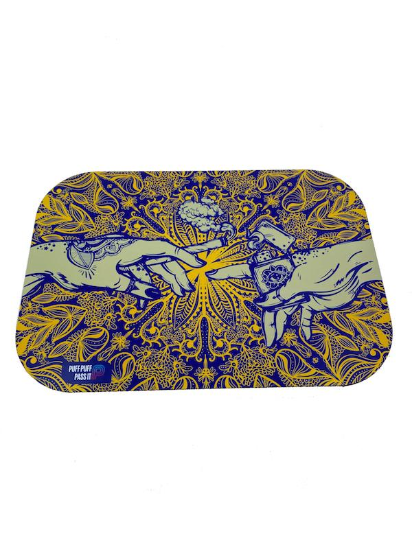 Puff Puff Pass It - Tray w/ Lid (4 colors) - Case of 40