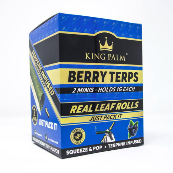 King Palm Flavored Mini Wraps - Berry Terps  (20 pack)