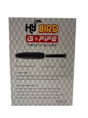 G-Pipe HyBird Glass Twist Blunt (Display of 16)