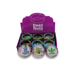 Deez Nutz Glass Ashtray (Box of 6)