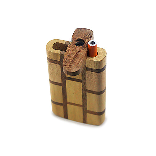 Handmade Wooden Blocked Dugout w/ One Hitter
