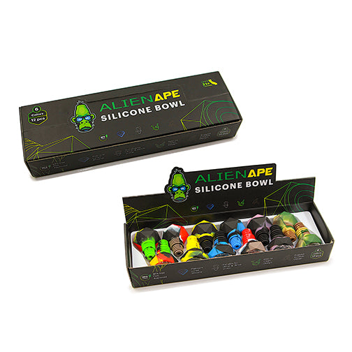 Alien Ape Silicone Bowl - Diamond (Box of 12)