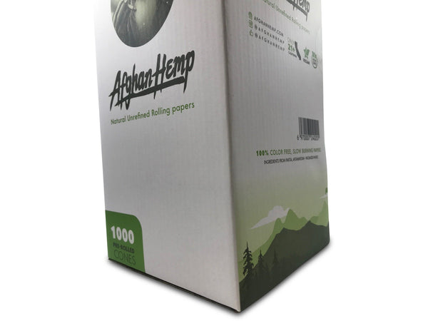 Afghan Hemp Pre-rolled King size Cones (1000 pack)
