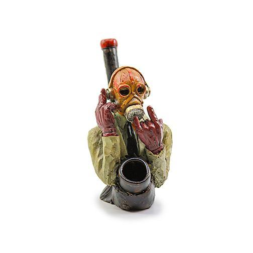 Resin Pipe - Masked Man