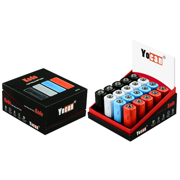 Yocan Kodo Cartridge Battery (Display of 20)
