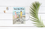 "Service with you Instant Download Greeting Card (5""x7"" folded)"