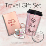 Mug,Keychain,Passport: Travel Gift set