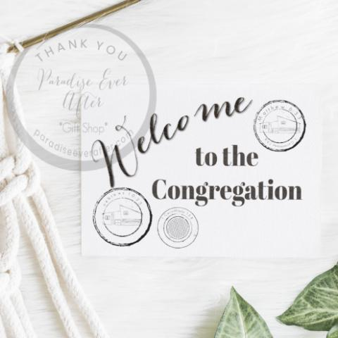 JW Gift Congregation Greeting Card