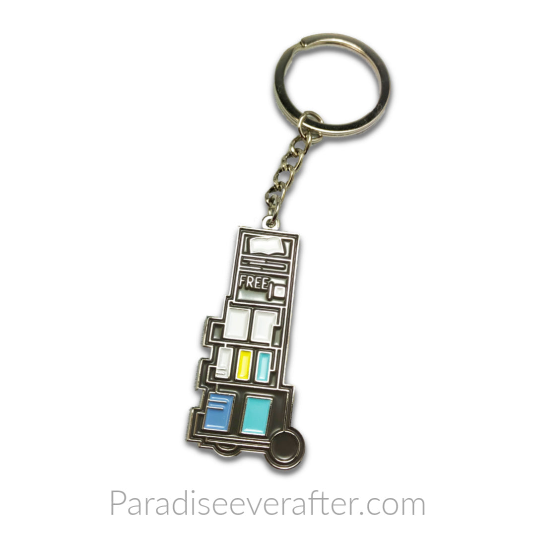 Preaching Cart: Enamel Key Chain