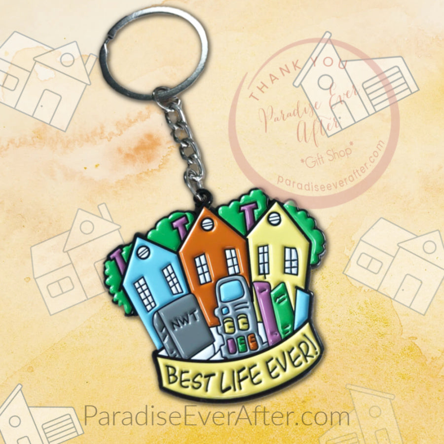 Best Life Ever House to House: Enamel Key Chain