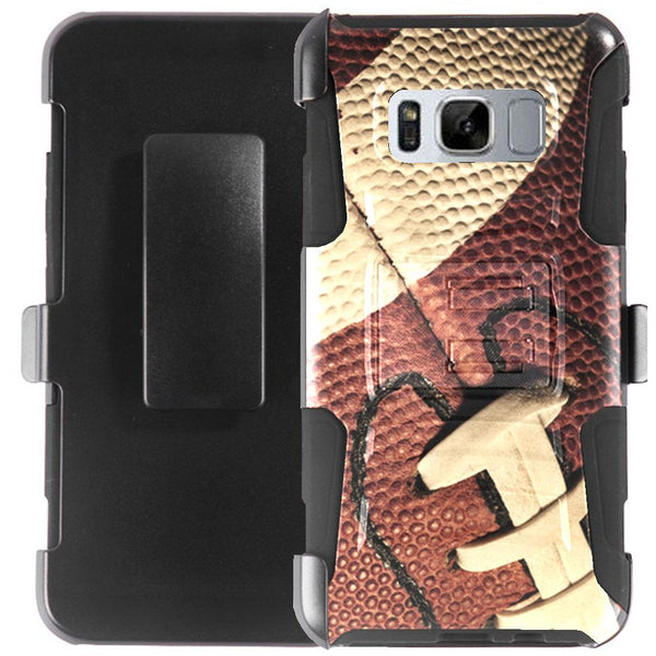 Samsung Galaxy S8 Active (G892A) Case Holster Combo - Tactical Hybrid Armor Case with Holster Belt Clip