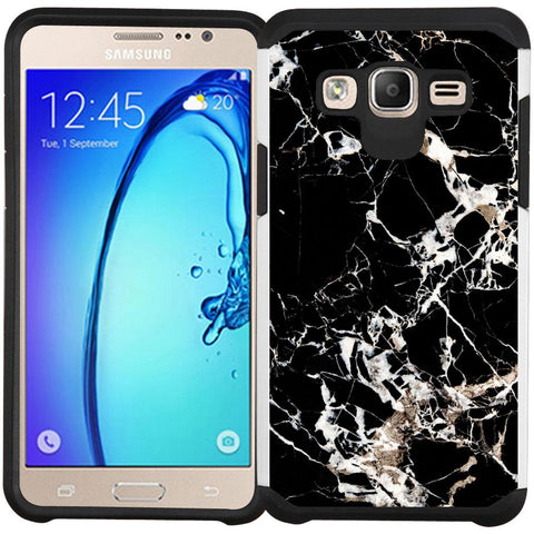 Samsung Galaxy On5 G550 Case - Slim Hybrid Case Dual Layer Protective Phone Cover