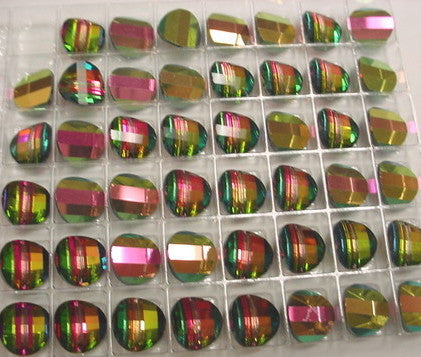#5107 Vitrail Medium 4 RIGHT and 4 LEFT 12mm Pagoda Crystals (lot of 8)