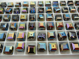 #5601 Heliotrope 8mm cube (lot of 12)