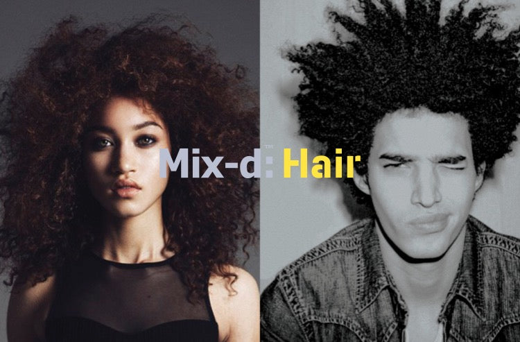 The next face of Mix-d: Hair.