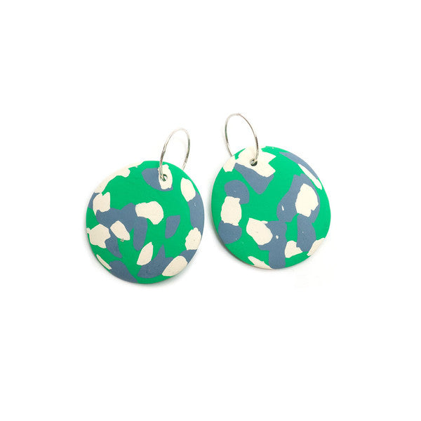 Emily Green Polkadots and Moonbeams Exhibition Edition X Drop Earrings