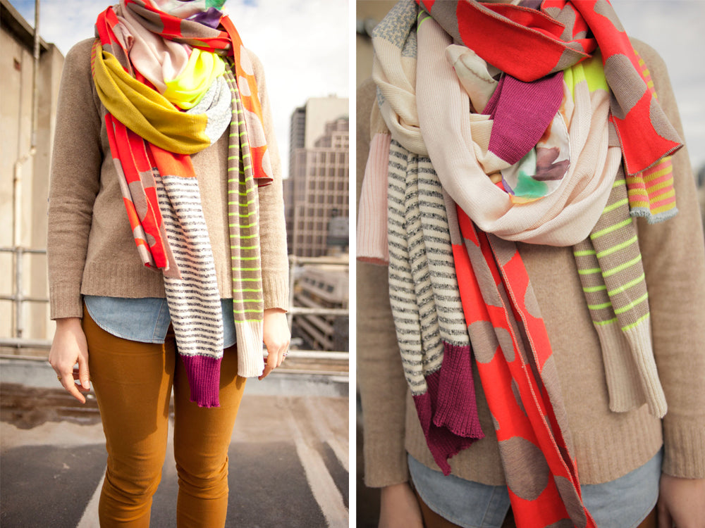Emily Green x Lucy Hall Scarves