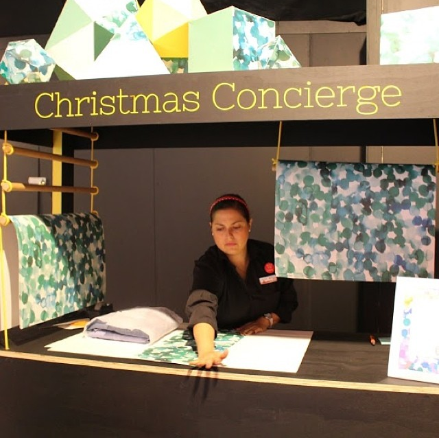 Emily Green Melbourne Central Christmas wrapping paper