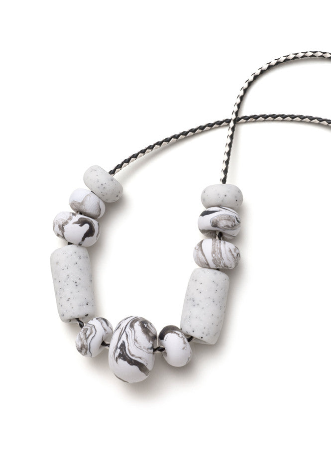 Blanche Big Bead Necklace