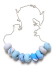 Dot Dash 9 Bead Necklace