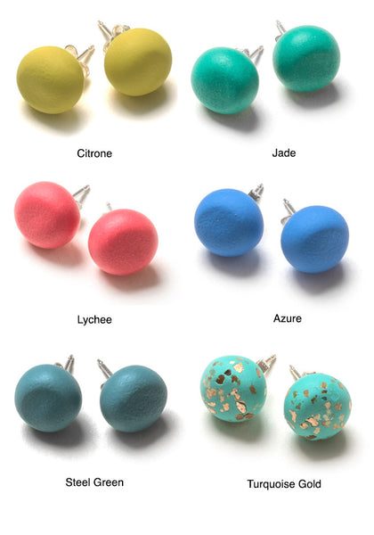 Dot Dash Stud Earrings
