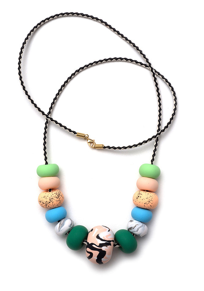 Azelia Big Bead Necklace