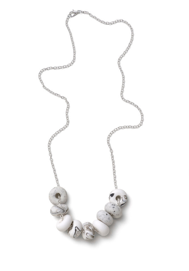 Blanche 9 Bead Necklace