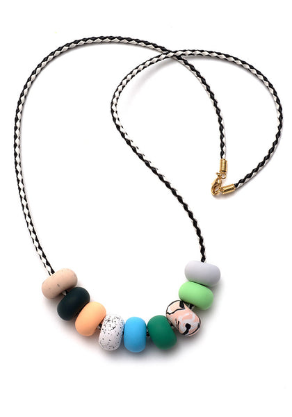 Lexi 9 Bead Necklace