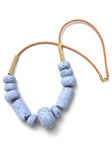 Messina Blueberry Big Bead Necklace