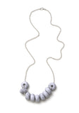 Messina Dragonfruit 9 Bead Necklace