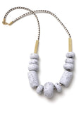Messina Dragonfruit Big Bead Necklace