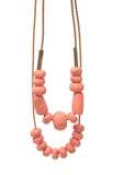 Messina Mandarin Big Bead Necklace