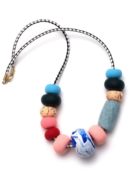 Rosa Big Bead Necklace