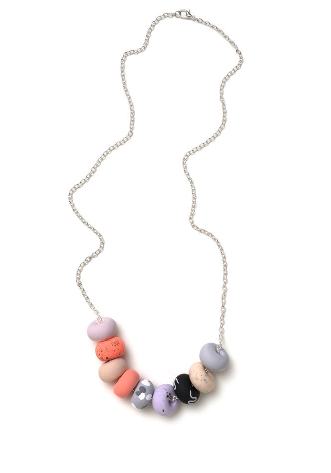 Rosetta 9 Bead Necklace