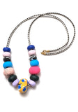 Buttercup Collage Big Bead Necklace