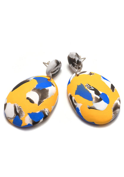 Buttercup Collage Drop Earrings
