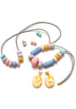 Chalk Big Bead Necklace