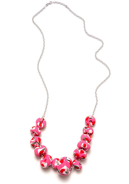 Limited Edition Lipstick Collage Necklace