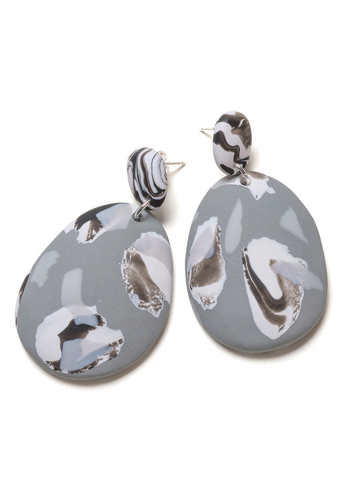 Fog Collage Drop Earrings