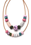 Jasmine 9 Bead Necklace