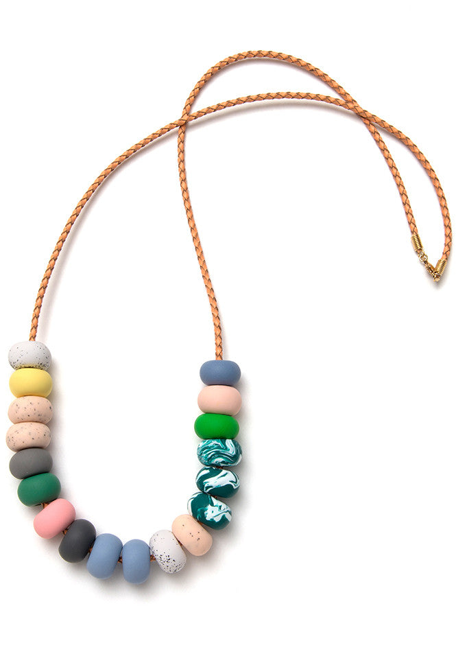 Julia Rose 18 Bead Necklace