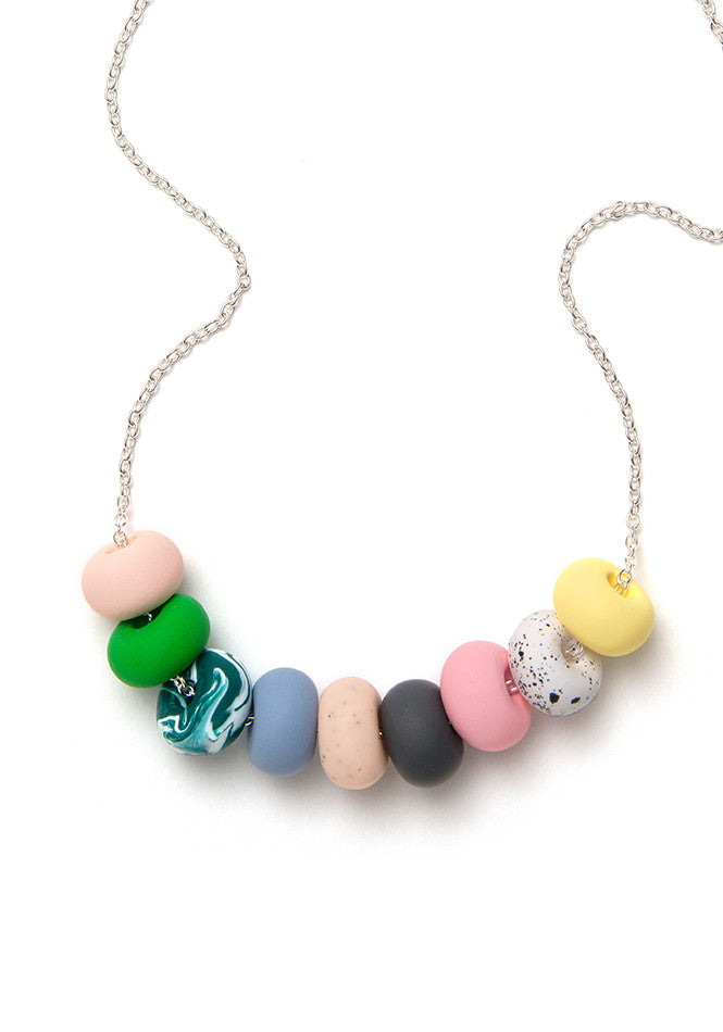 Julia Rose 9 Bead Necklace