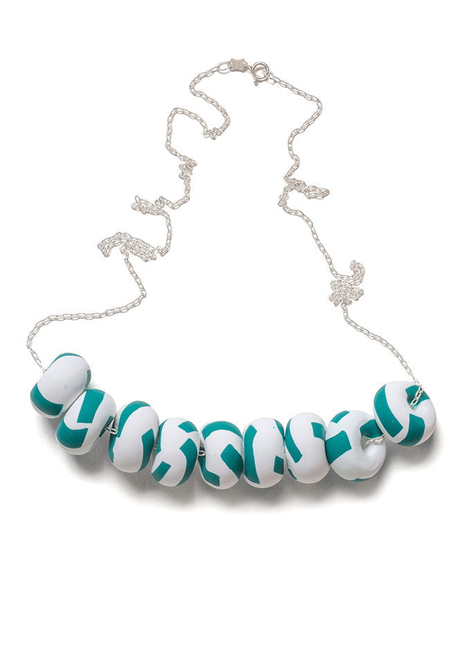Pine Dash Limited Edition 9 Bead Necklace