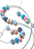 Pine Dash 9 Bead Necklace