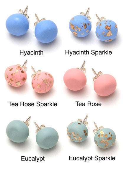 Paint and Petals Collection Stud Earrings