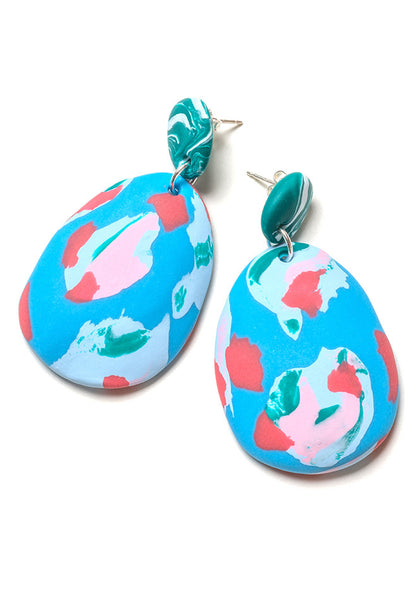 Riviera Ink Drop Earrings