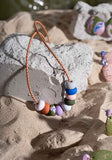 Rock Pools 9 Bead Necklace