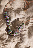 Rock Pools Art Series Big Bead Necklace