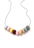 Smokebush 9 Bead Necklace