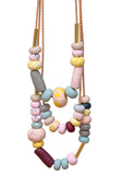 Smokebush Big Bead Necklace